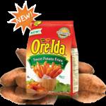 Ore- Ida Sweet Potato Fries acompañada de dos ricas salsas #OreIdaFries