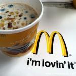 Un desayuno con McDonald's: Blueberry Banana Nut Oatmeal
