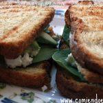 Sandwich Vegetariano con Aguacate