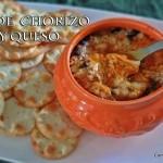 Dip de Chorizo y Queso #GOAuténtico