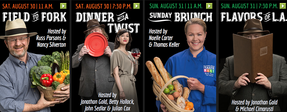 Dinner with a Twist & Sunday Brunch #TasteLA