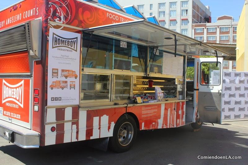 Homeboy Industries Food Truck, comida con propósito @HomeboyTruck