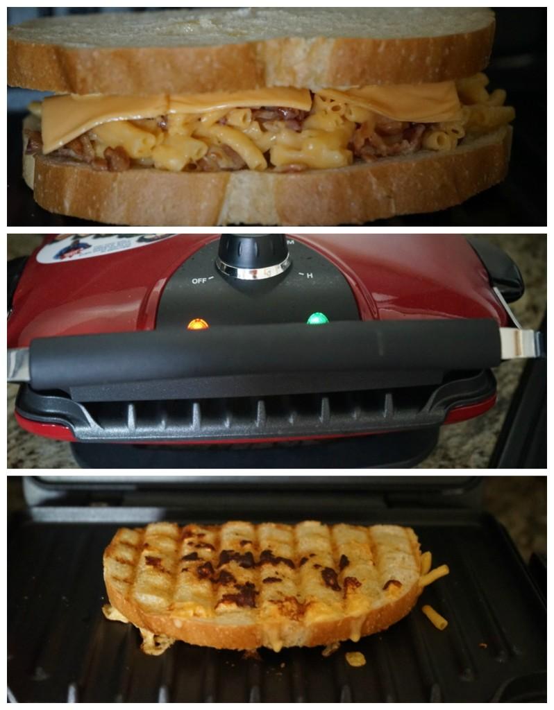 Sándwich de Mac n Cheese (paso a paso)