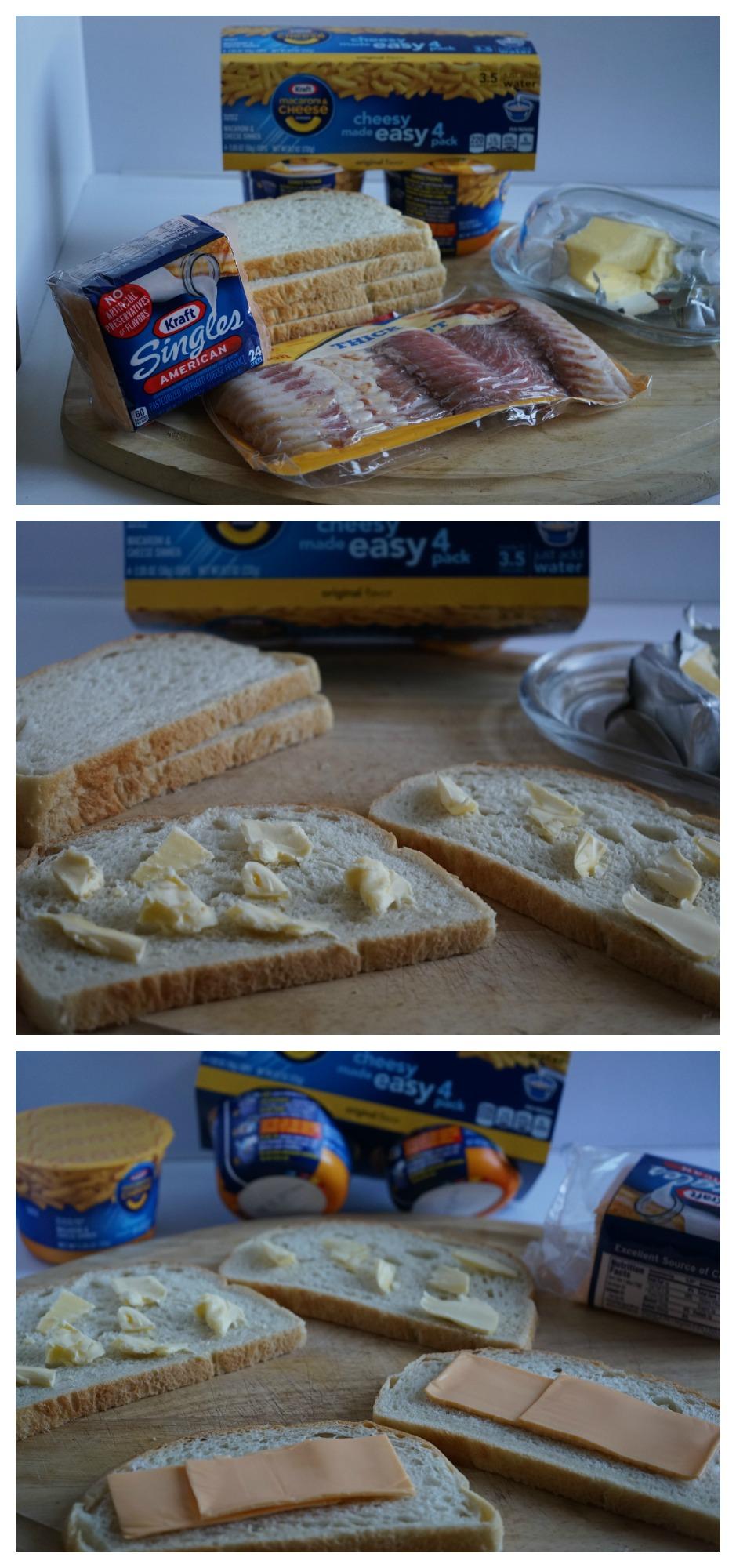 Cómo preparar un sándwich con macarranoes
