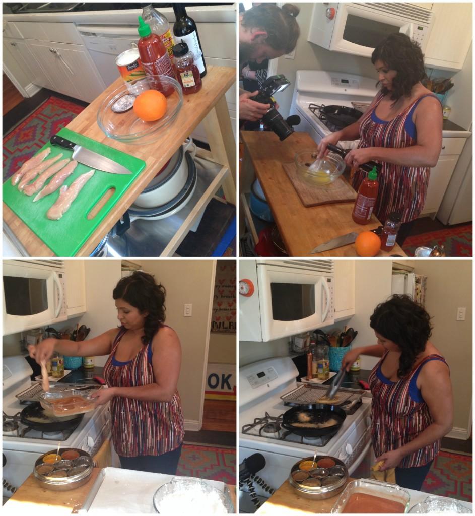 Cocinando con chef Aarti Sequeira