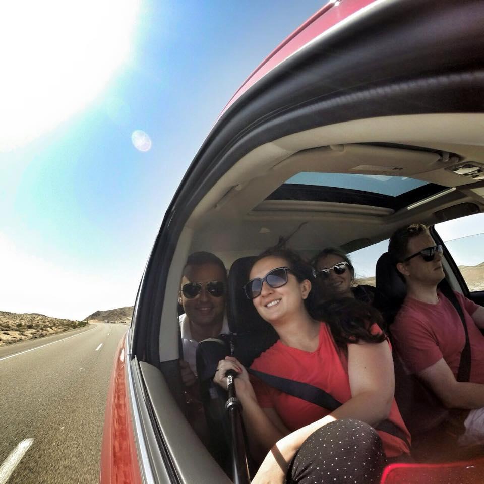 Viaje por carretera de Los Ángeles a Las Vegas
