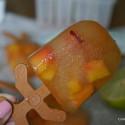 Receta de Arnold Palmer paletas con durazno