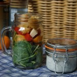Delicioso menú para picnic