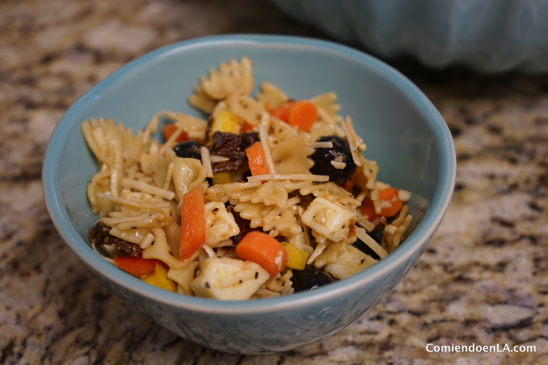 Cómo preparar una rica ensalada de pasta