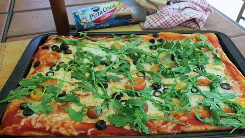 pizza'verduras