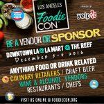 Foodie Con, el Comic Con de los ¨foodies¨