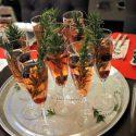 Coctel de Champagne para celebrar el año nuevo