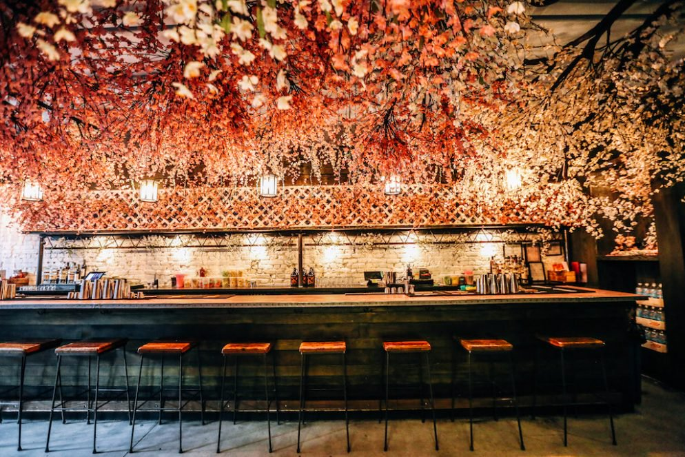 El tan esperado Cherry Blossom Pop Up bar llega a Washington D.C.