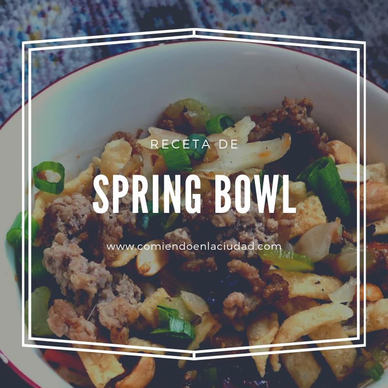 Spring Bowl