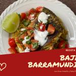 Baja Barramundi con Arroz Amarillo y Salsa Fresca