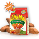Ore- Ida Sweet Potato Fries acompañada de dos ricas salsas #OreIdaFries