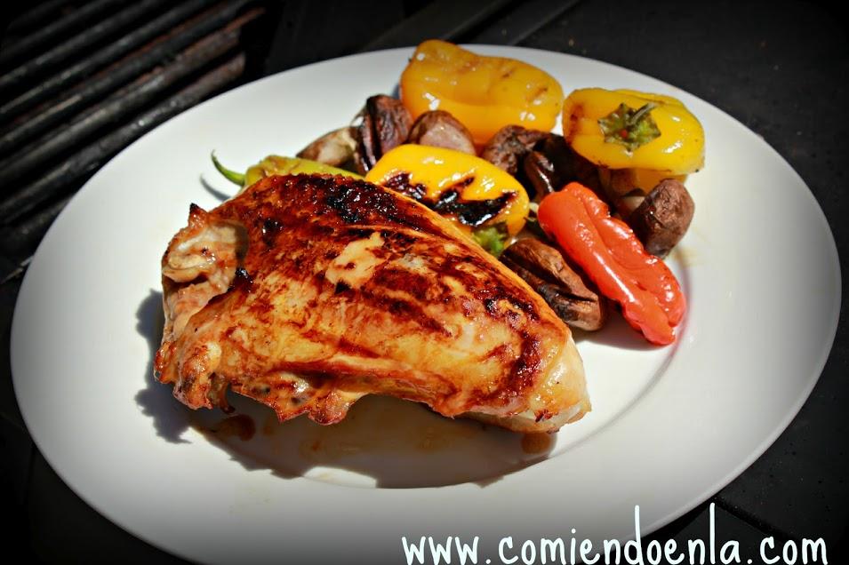 Smart Grilled BBQ Chicken Breast