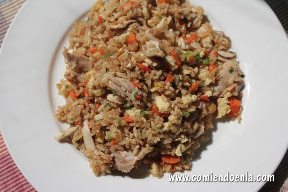 Receta de Arroz Frito: Fried Rice
