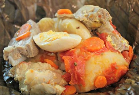 Tamal Tolimense, El Sabor de la cena típica
