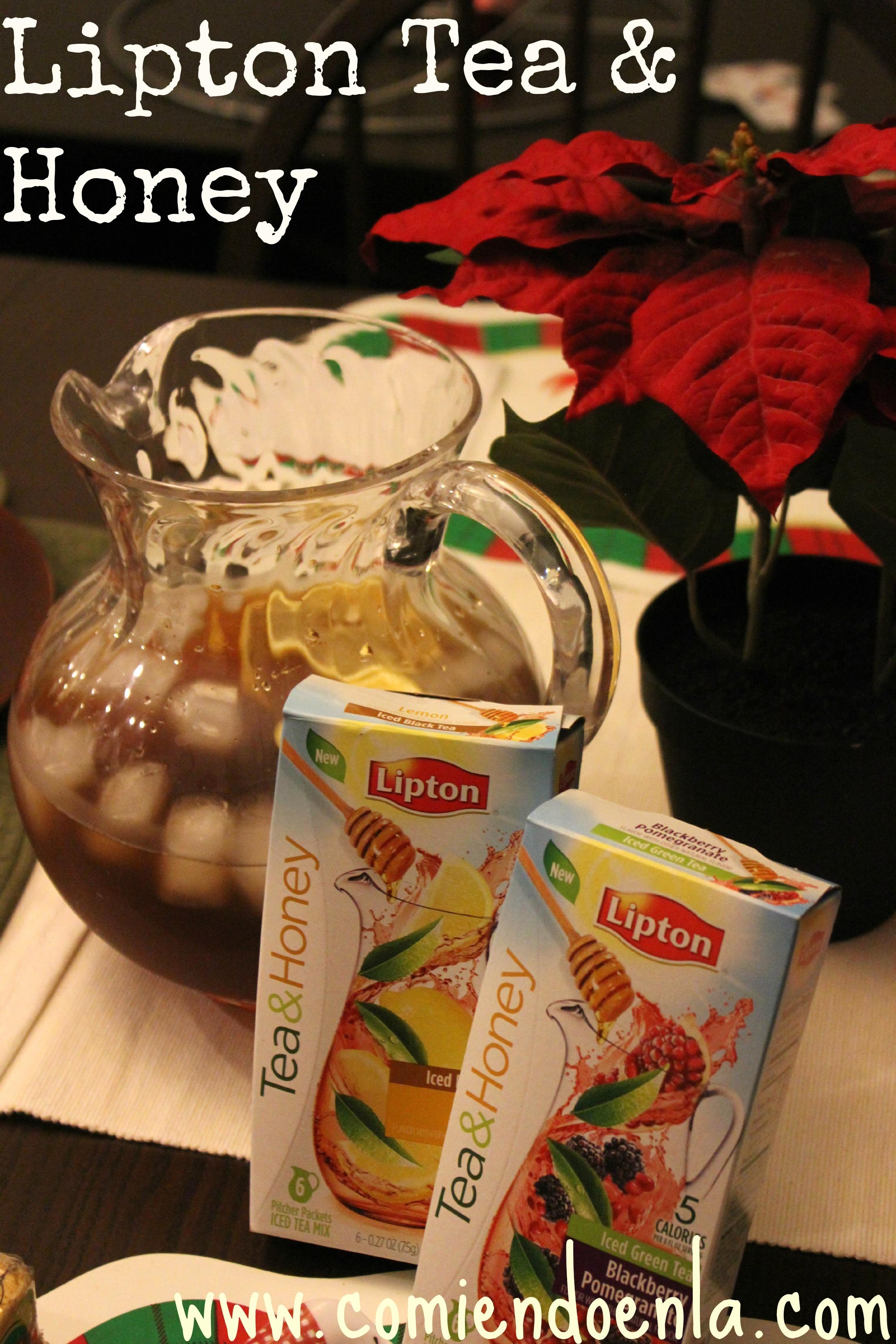 Lipton Tea & Honey #FamilyTeaTime