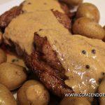 Receta de Steak Pimienta #steakover