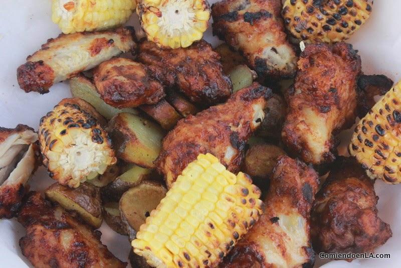 Salsa barbacoa para alitas de pollo