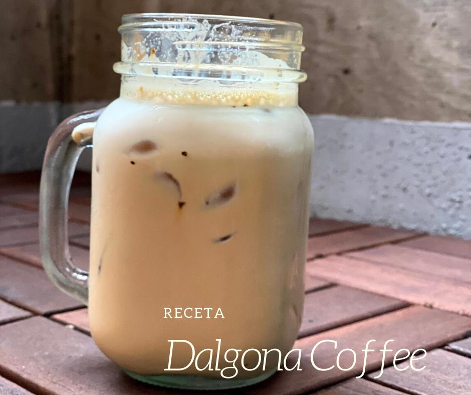 Cómo preparar café batido Dalgona