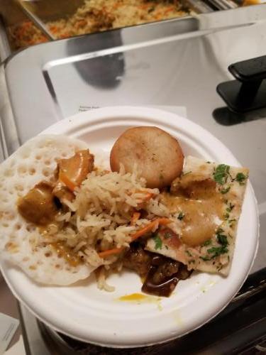 Comida de la India del restaurante Mayura