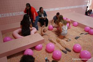 Pool full of sprinkles